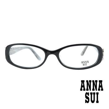 【ANNA SUI 安娜蘇】日系花邊蝴蝶造型光學眼鏡-網透(AS541-009)