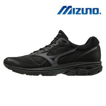 【MIZUNO 美津濃】WAVE RIDER 22 男慢跑鞋 黑 J1GC183113
