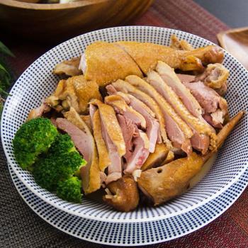 憶鵝時 雲林在地古早味煙燻茶香黃金香草鵝切盤*10包組(200g±10%/包)