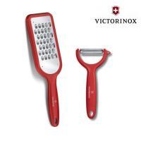 VICTORINOX 瑞士維氏 削皮工具2件組(刨絲刀+削皮刀)