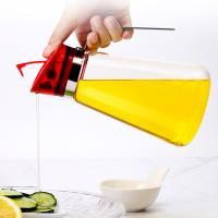 PUSH!廚房用品高硼矽玻璃油瓶防漏油壺油罐調味料醬油瓶壺D176