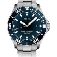 MIDO美度 海洋之星 600米陶瓷潛水錶(藍/43mm) M0266081104100