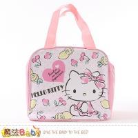 魔法Baby 便當袋 Hello kitty授權正版保溫保冷提袋~f0361