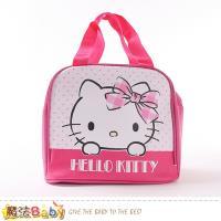 魔法Baby 便當袋 Hello kitty授權正版保溫保冷提袋~f0360
