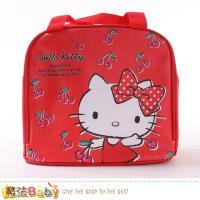 魔法Baby 便當袋 Hello kitty授權正版保溫保冷提袋~f0359