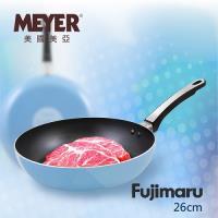 美國美亞 MEYER Fujimaru 藍珊瑚單柄不沾平底鍋 26CM-無蓋 16444