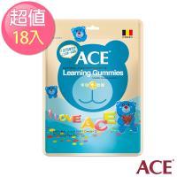 【ACE】比利時進口 字母Q軟糖隨手包 18入(48g/包*18)