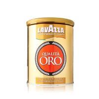 LAVAZZA Qualita ORO金牌咖啡粉250g-精裝鐵罐