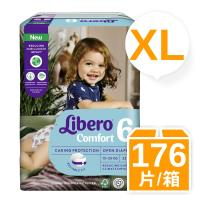 麗貝樂 紙尿褲6號-XL-22片x8包