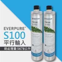 EVERPURE S100家用標準型淨水器濾心(S-100平行輸入濾芯)2入組