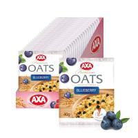 AXA即食燕麥片超值60入組(40gx60,3種任選-藍莓、草莓、蔓越莓)
