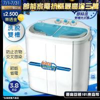 ZANWA晶華 即時洗節能雙槽洗衣機/雙槽洗滌機/洗衣機 ZW-258S