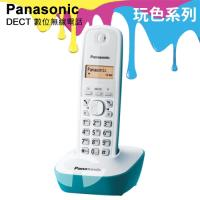 Panasonic 松下國際牌DECT數位無線電話 KX-TG1611 (湖水藍)