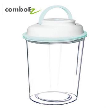 智能真空保鮮罐 3.5公升 大瓶口 (粉/藍/綠/咖) 保鮮防潮 飼料桶首選 自動偵測罐內空氣