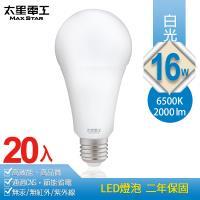 太星電工 16W超節能LED燈泡(20入) 白光/暖白光