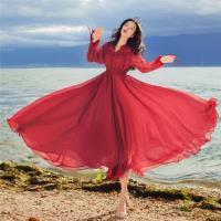 【維拉森林】浪漫華麗大圓裙禮服洋裝S-L