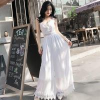 【維拉森林】性感細肩帶蕾絲褲裙裝S-XL(共二色)