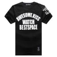 BuyGlasses 文字棉質情侶短袖T恤