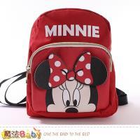 魔法Baby 兒童背包 迪士尼米妮授權正版雙肩背包 ~f0370
