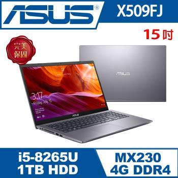 (改機升級)ASUS華碩 X509FJ-0111G8265U 效能筆電 星空灰 15吋/i5-8265U/8G/1T/MX230/W10