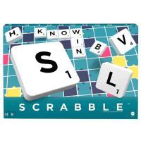 Scrabble 英文拼字遊戲 桌遊 美泰兒 公司貨