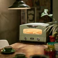 [結帳驚喜價]日本Sengoku Aladdin 千石阿拉丁 復古多用途烤箱(內附烤盤)-(綠色) 庫-員購