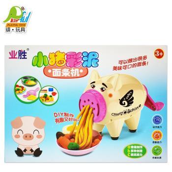 Playful Toys 頑玩具 小豬黏土麵條機 324 (小豬 DIY 黏土 製麵機 家家酒 頑玩具)