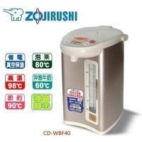 ZOJIRUSHI象印 微電腦4L四段保溫設定熱水瓶-CD-WBF40