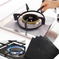 廚房防油耐高溫瓦斯爐保護墊(4片裝/4包)