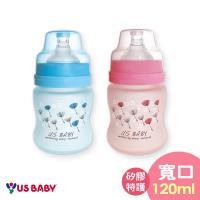 任-優生真母感特護玻璃奶瓶(寬口120ml-藍)