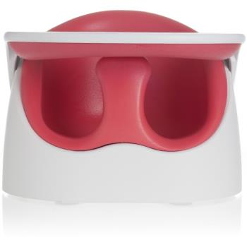 【JellyMom】韓國製全新設計多功能組合式幫寶椅/兒童用餐椅(附升級款安全帶-白色)