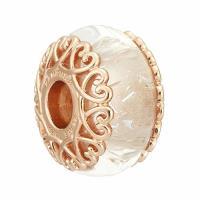 【PANDORA 潘朵拉】新款Rose系列霓彩光澤琉璃墜飾純銀串珠(787576)