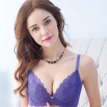 【EASY SHOP】相遇開運 大罩杯B-E罩內衣(貴人紫)