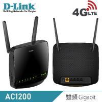 【D-Link 友訊】DWR-953 4G LTE AC1200 家用無線路由器 【贈收納購物袋】