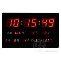 EDISON愛迪生插電式LED萬年曆電子鐘 EDS-A38
