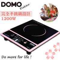 比利時DOMO 不挑鍋歐風時尚電陶爐DM8206KT(櫻花粉)-福利品