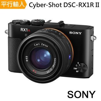 【128G副電座充單眼包大腳架】SONY Cyber-Shot DSC-RX1R II 全片幅機皇類單眼*(中文平輸)