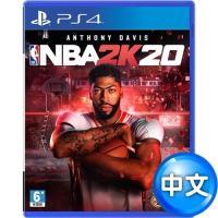 【預購】PS4 NBA 2K20–中英文合版+無線震動手把-極致黑 (CUH- ZCT2G)