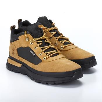 Timberland男款小麥色絨面革配黑色FIELD TREKKER休閒鞋A1YS6231