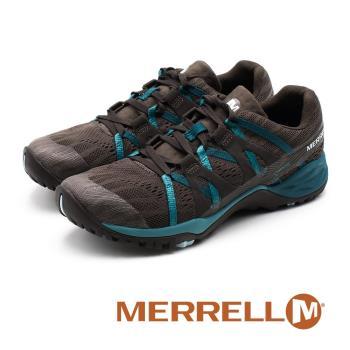 MERRELL Siren Hex Q2 E-Mesh 防水GORE-TEX郊山健行鞋 女鞋 - 鐵灰