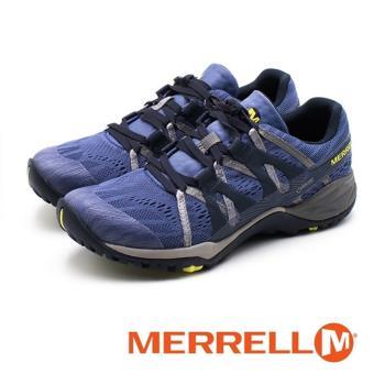 MERRELL Siren Hex Q2 E-Mesh 防水GORE-TEX郊山健行鞋 女鞋 - 藍紫