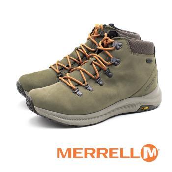 MERRELL Ontario Waterproof 男鞋 - 橄欖綠