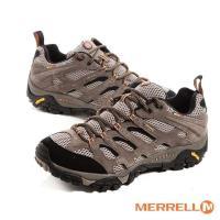 MERRELL GOR-TEX防水耐磨登山運動休閒鞋-男鞋-棕