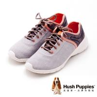 Hush Puppies DIBAYA CYPRESS系列 綁帶機能運動鞋 女鞋-灰(另有深藍)