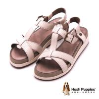 Hush Puppies GERRIT CHRYSTA系列 日常舒適涼鞋 女鞋-米(另有黑)