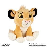 (預購7/23上市) InfoThink  Disney迪士尼 獅子王系列絨毛藍牙喇叭 BSP600 (Simba)