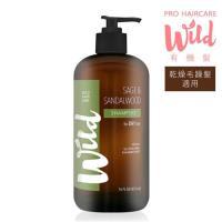 【加贈髮妝水】Wild Hair Care 有機髮- 檀香鼠尾草防護滋養洗髮精 473mL