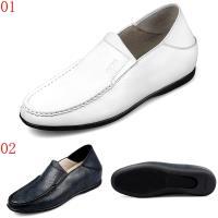 GOG高哥休閒套腳軟面踩跟懶人鞋兩色可選WS888827黑/WS888828白增高5.5CM口JHS杰恆社1907(預購)