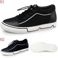 GOG高哥休閒系帶板鞋兩色可選W188177黑/W188178藍增高5.5CM口JHS杰恆社1907(預購)