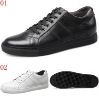 GOG高哥休閒系帶板鞋兩色可選WX688623/黑/WX688625白增高6.5CM口JHS杰恆社1907(預購)